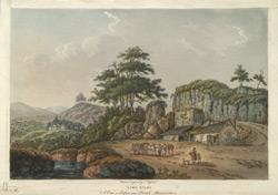 Lime Kilns, a View at Clifton near Bristol, Gloucestershire